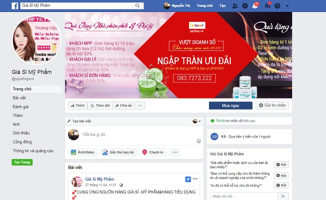 fanpage-facebook-gia-si-my-pham